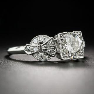 1.01 Carat Art Deco Diamond Ring - GIA J  VS2