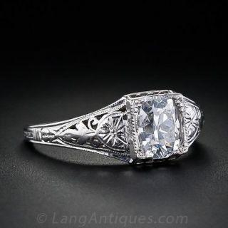 1.05 Carat Solitare Diamond Ring