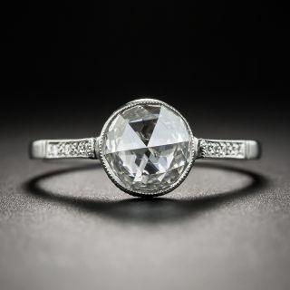 1.08 Carat Rose-Cut Diamond Ring - GIA D VS1 - 1