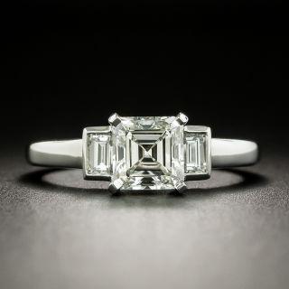 1.13 Carat Emerald-Cut Diamond Engagement Ring -  GIA K VS1 - 1