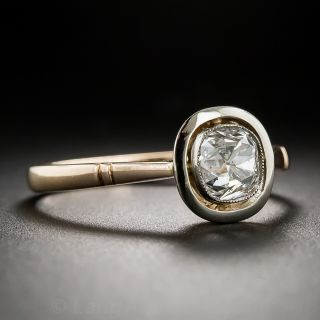 1.14 Carat GIA F/SI2 Russian Diamond Engagement Ring