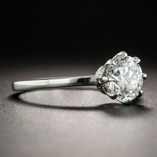 1.20 Carat European-Cut Diamond Solitaire - GIA F VS2 by Lang