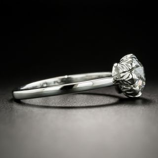 1.23 Carat European-Cut Diamond Solitaire - GIA I SI2