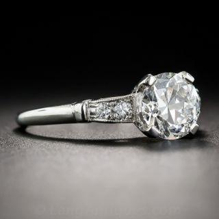 1.50 Carat Art Deco Diamond Engagement Ring - GIA G SI2