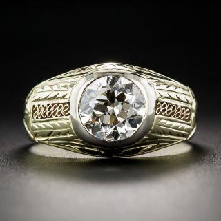1.50 Carat Art Deco Diamond Ring