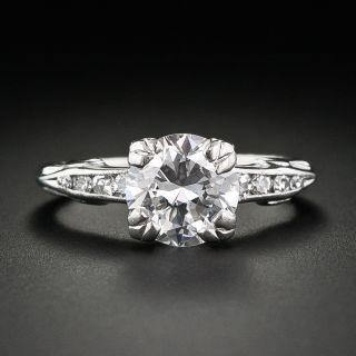 1.50 Carat Estate  Diamond Engagement Ring - 1