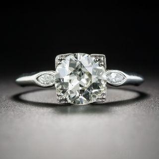 1.55 Carat European-Cut Diamond Ring - GIA N VS2