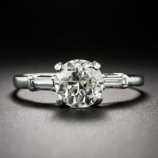 1.55 Carat Vintage Diamond Engagement Ring