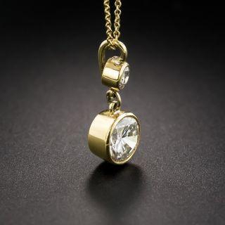 1.56 Carat Diamond Drop