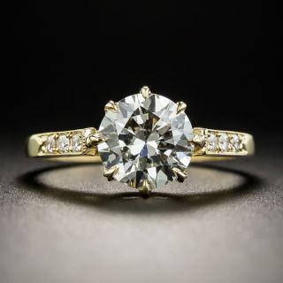 1.71 Carat Diamond Engagement Ring by Lang GIA L SI2 - 1