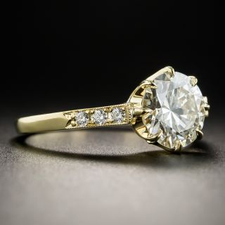 Lang Collection 1.71 Carat Diamond Solitaire Engagement Ring - GIA L SI2