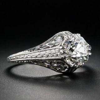 1.85 Carat Vintage Engagement Ring
