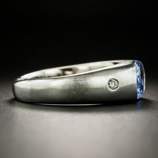 1.97 Carat No-Heat Ceylon Sapphire and Diamond Ring - GIA