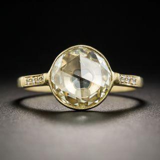 1.98 Carat Rose-Cut Diamond Ring by Lang - 1