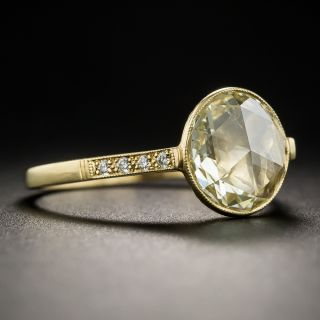 1.98 Carat Rose-Cut Diamond Ring by Lang