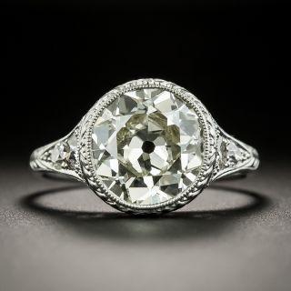 Lang Collection 3.61 Carat Diamond Engagement Ring - GIA O/P VS1 - 0