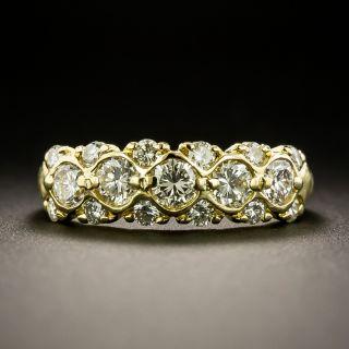Estate Diamond Band Ring - 2