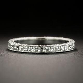 Lang Collection French-Cut Diamond Wedding Band - 0