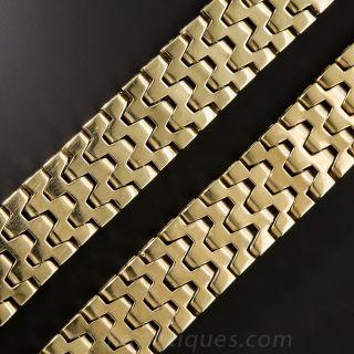 14 Karat Gold Choker Necklace