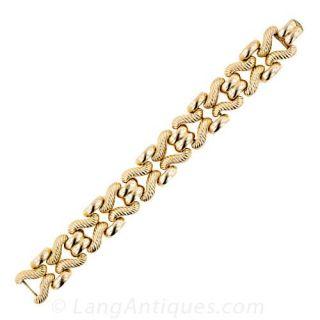18 Karat Retro Bracelet