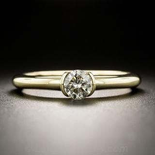 18K .45 Carat Diamond Solitaire Ring - 1