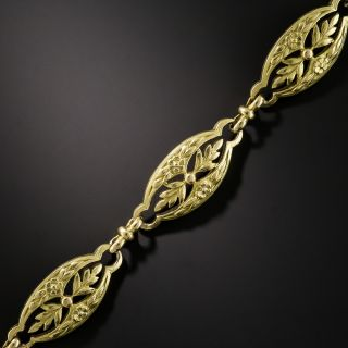 18K French Art Nouveau Bracelet - 1