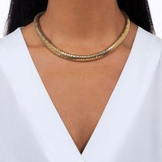 Mid-Century 'Sequin' Necklace