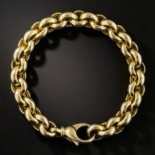 18K Solid Rollo Bracelet, Wempe - 1