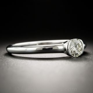 18K White Gold .45 Carat Solitaire Ring