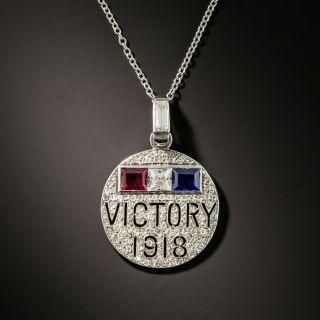 1918 Victory Charm - 1