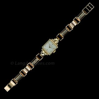 1940's Heguenin Bracelet Watch