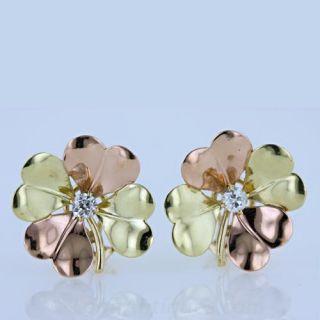 Retro Gold Earrings