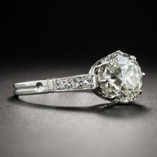 2.07 Carat Art Deco Diamond Ring GIA M SI1