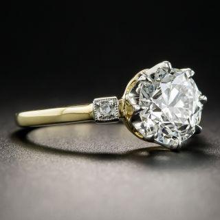 2.12 Carat Diamond Solitaire Engagement Ring - GIA I VVS2
