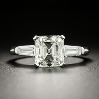 2.15 Carat Emerald Cut Diamond Ring - GIA L VVS2  - 2