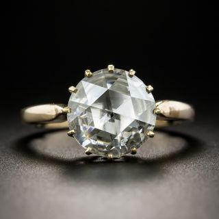 1.97 Carat Rose-Cut Diamond Solitaire