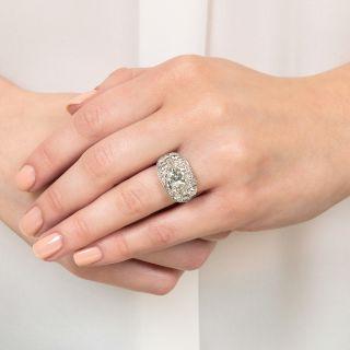 2.31 Carat Art Deco Engagement Ring - GIA