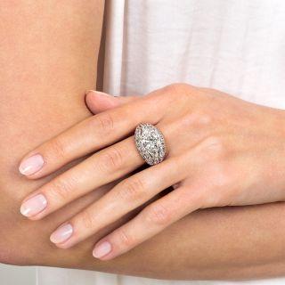 2.43 Carat Center Antique Diamond Ring