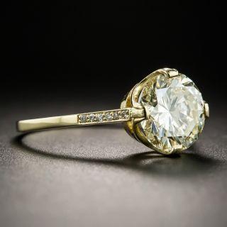 2.46 Carat Solitaire Diamond Engagement Ring - GIA