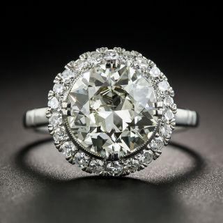 2.56 Carat Platinum Diamond Ring - 1