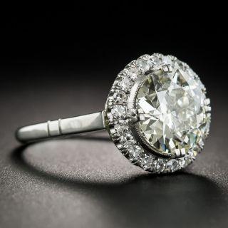 2.56 Carat Platinum Diamond Ring