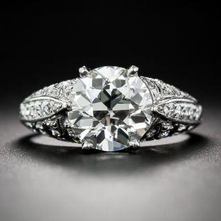 2.60 Carat Art Deco Diamond Ring - 1