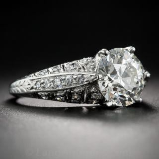 2.60 Carat Art Deco Diamond Ring