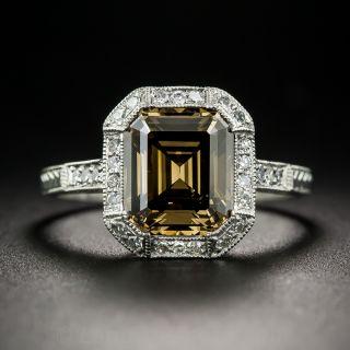 2.67 Carat Fancy Brown Diamond Ring - 1