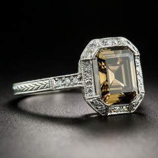 2.67 Carat Fancy Brown Diamond Ring