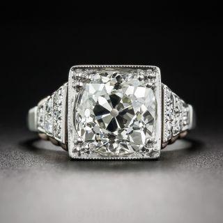 2.68 Carat Art Deco Diamond Ring - 2