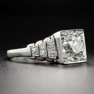 2.68 Carat Art Deco Diamond Ring