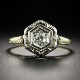 .20 Carat Diamond Art Deco Solitaire