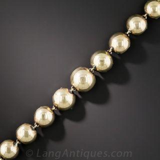 22.50 Carat Rose-Cut Diamond Bracelet