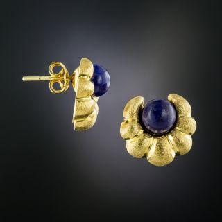 Lalaounis Lapis Earrings  - 2